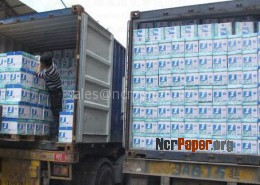 A4 Copy Paper Shipment